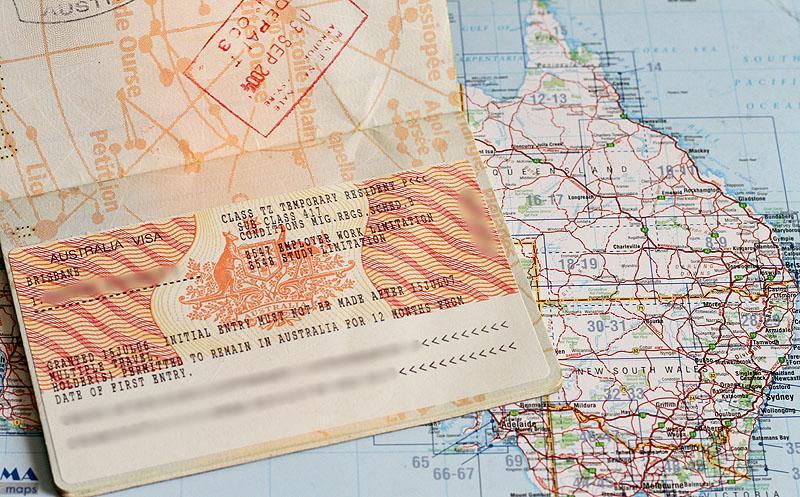 Visa Working Holiday pour l'Australie
