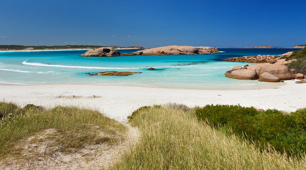 Twilight Beach en Australie