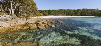 Plage Jervis Bay en Australie