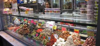 Vitrine d'un magasin alimentaire en Australie