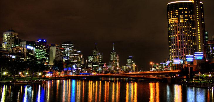 Grate-ciel à Melbourne, en Australie