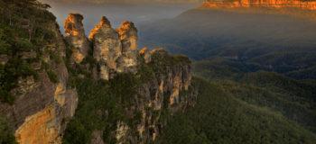 Région des montagnes Bleues en Australie
