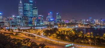 Ville de Perth, Australie