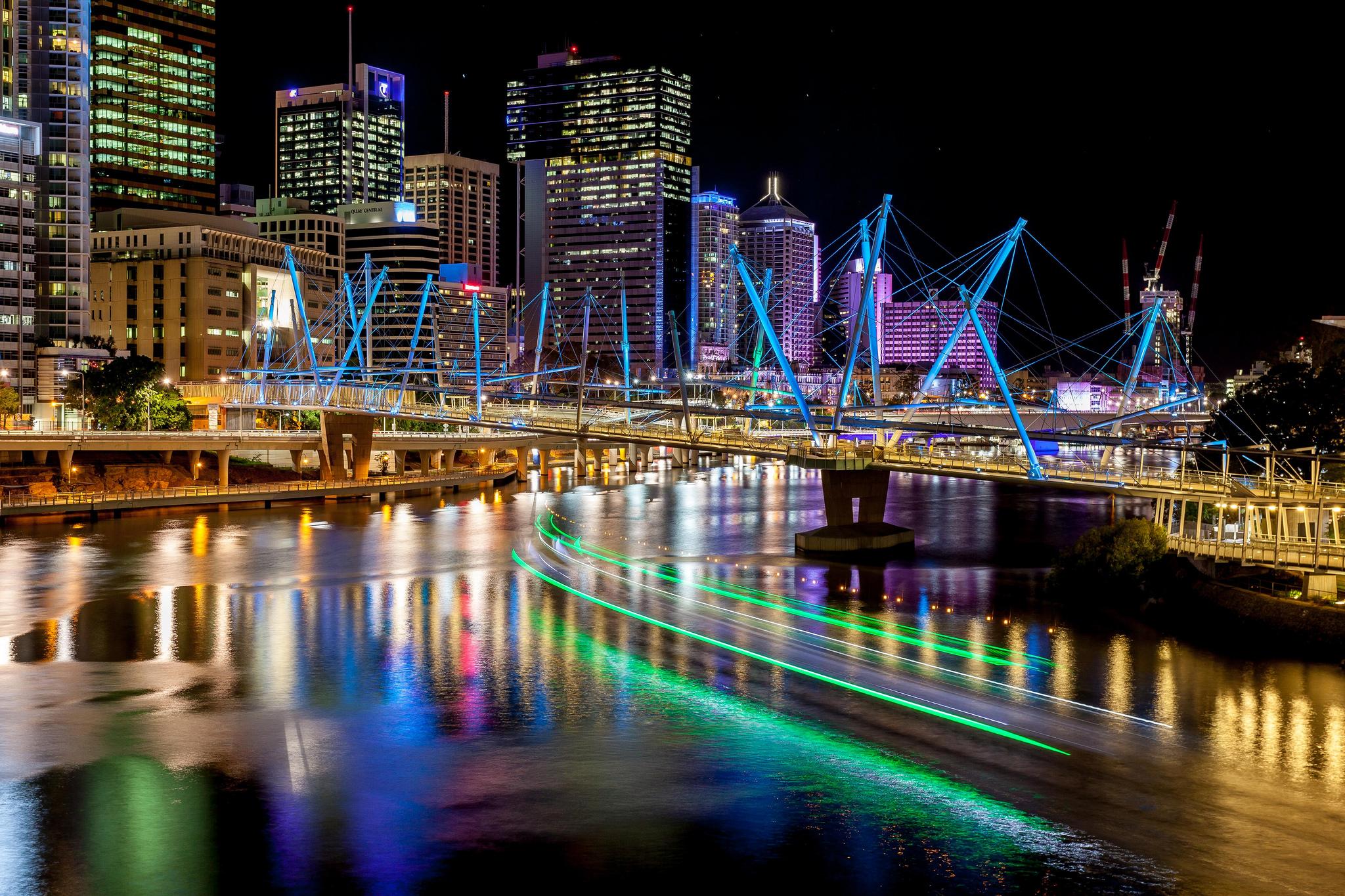 Ville de Brisbane, en Australie