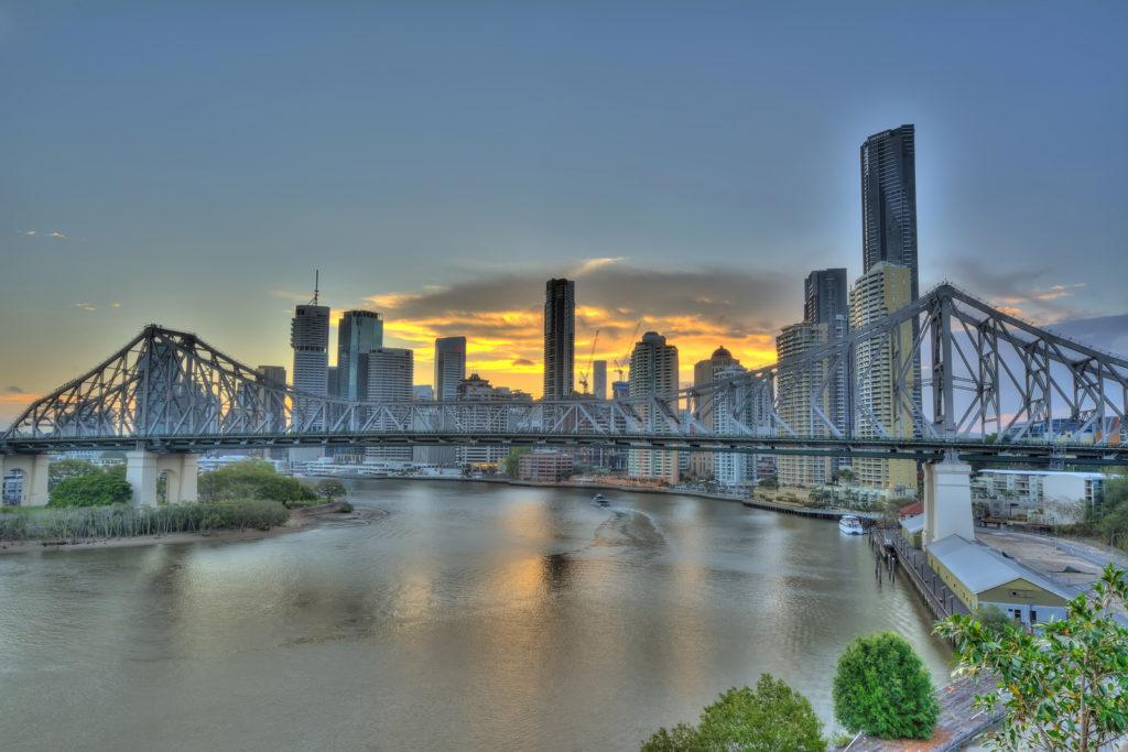 Brisbane River et le Story Bridge
