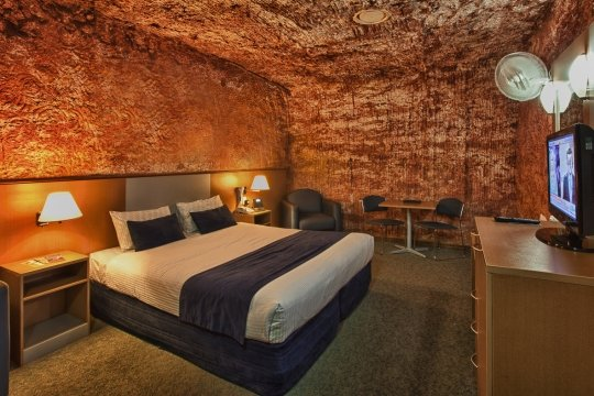 Photo : Desert Cave Hotel