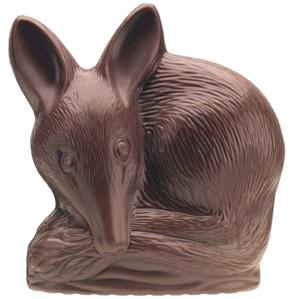 Bilby en chocolat pour pâques