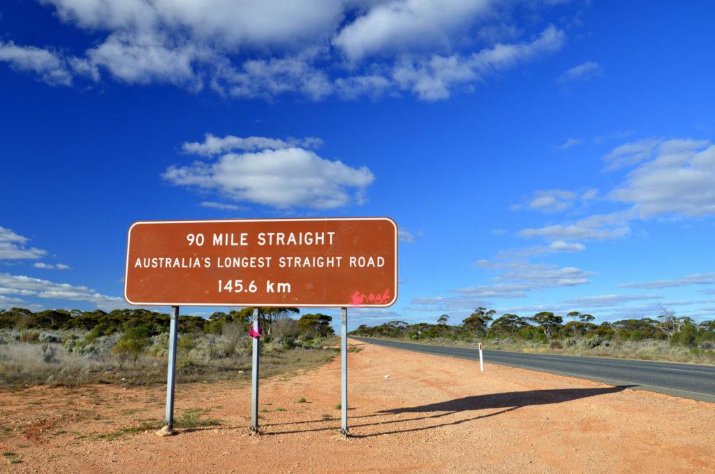 Route rectiligne la plus longue Photo : Chris Fithall / flickr