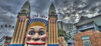 Parc d'attractions Luna Parc à Sydney