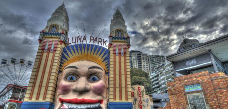 Parc d'attractions Luna Parc à Sydney