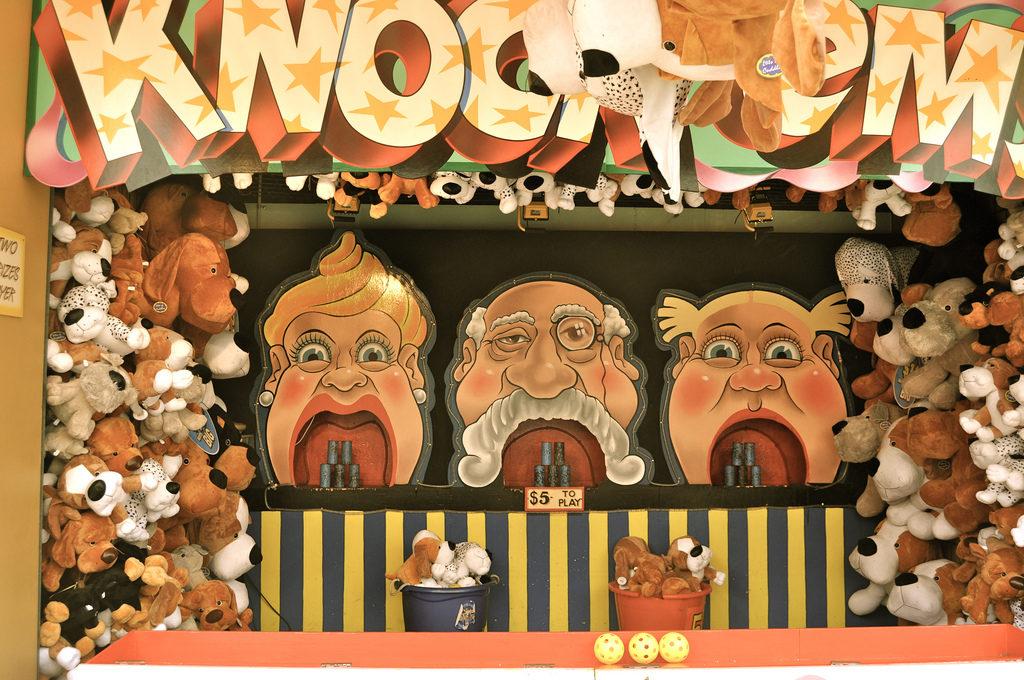 Knock'ems à Luna Park