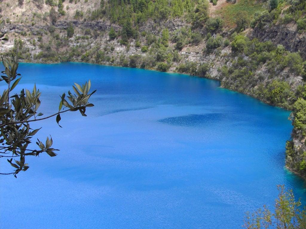 Blue Lake en Australie-Méridionale