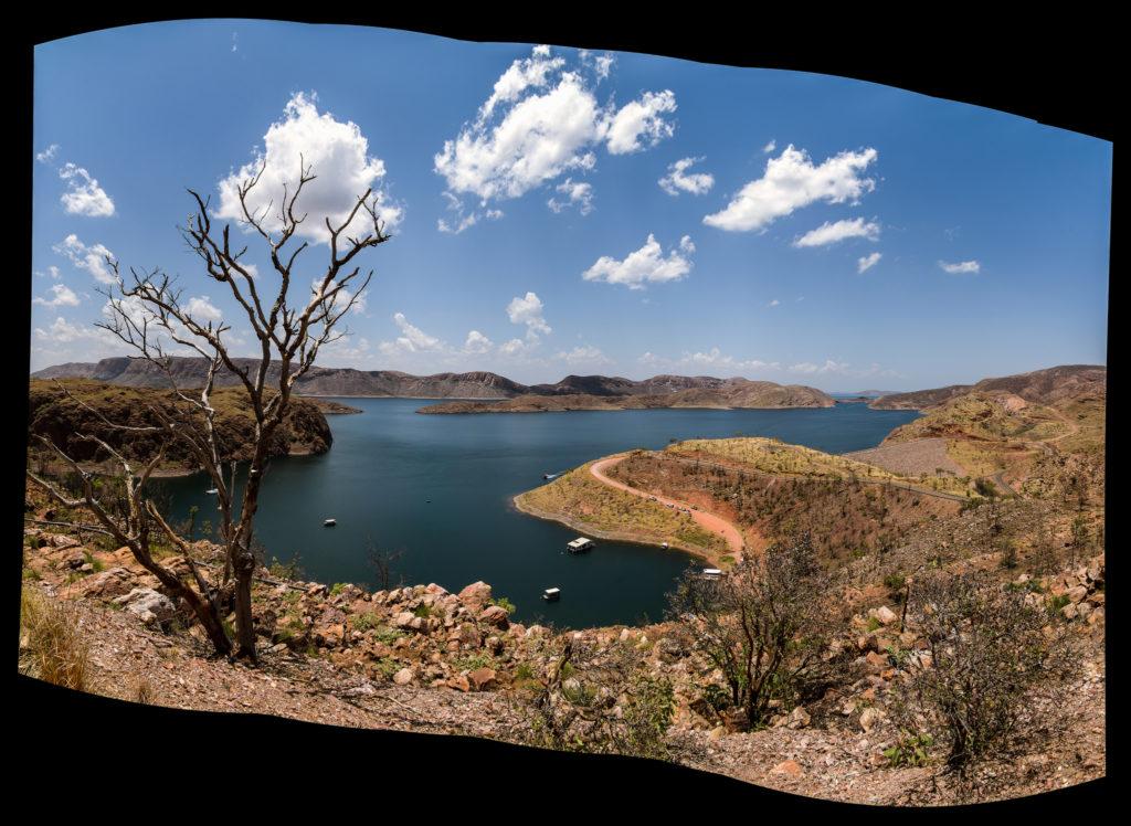 Lake Argyle en région du Kimberley