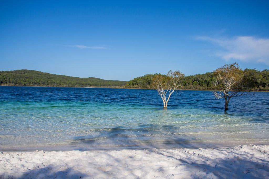 Lake McKenzie en Australie
