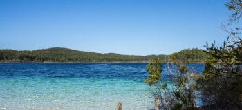 Lake McKenzie sur l'île de Fraser