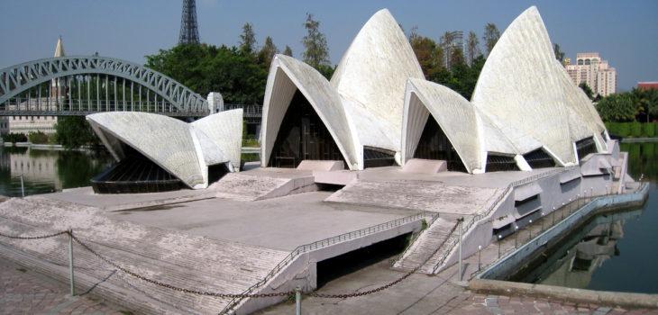 Opéra de Sydney en miniature à Paris