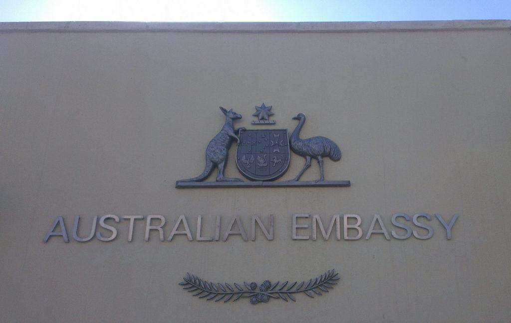 Ambassade australienne à Paris