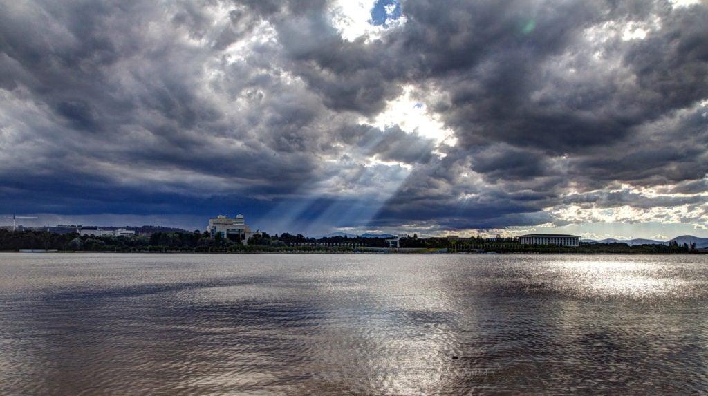 Lac Burley Griffin à Canberra