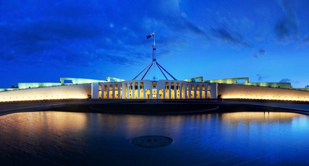 Parliament House à Canberra