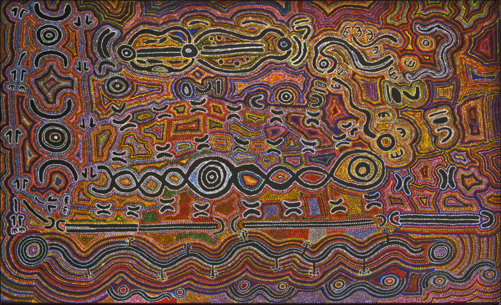 Un peinture aborigène