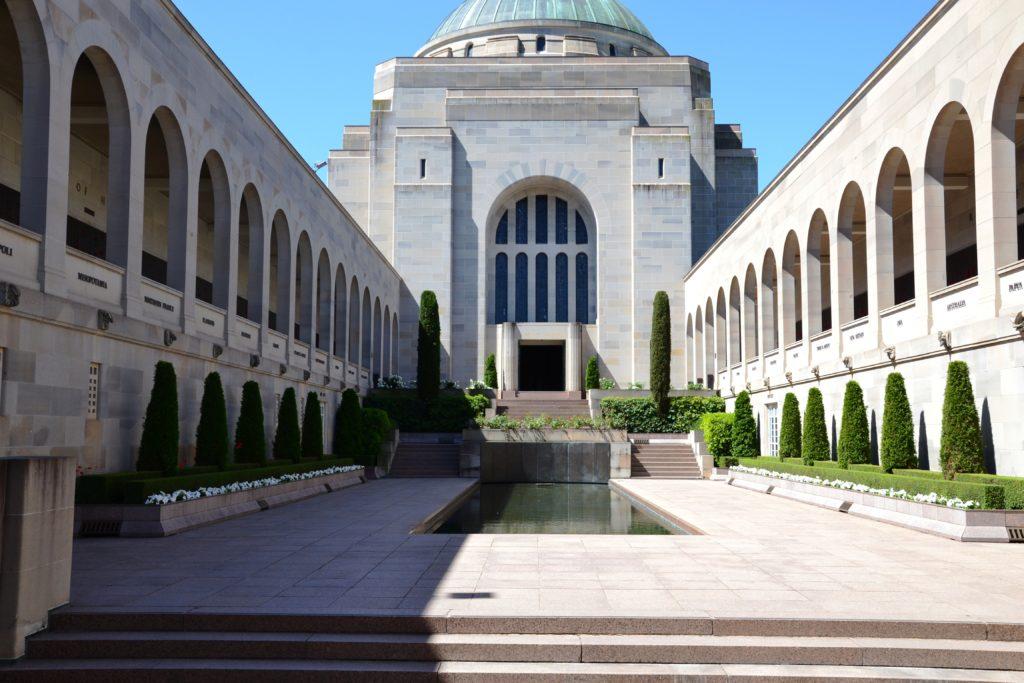 War australian memorial à Canberra