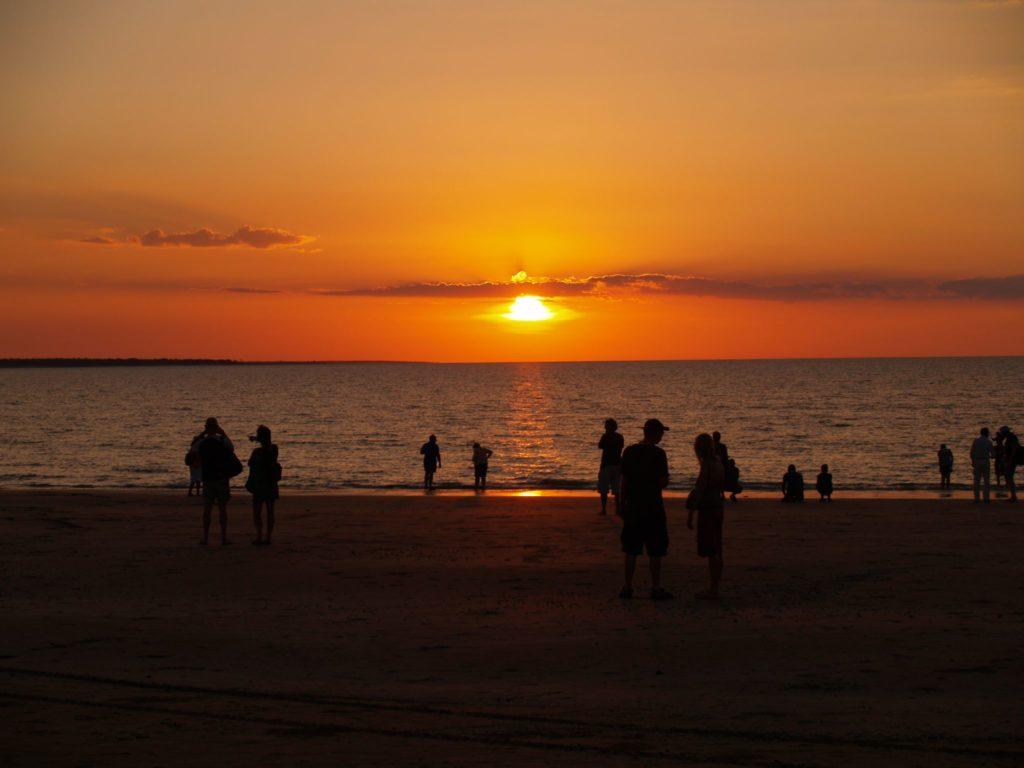 Coucher de soleil Grant Williamson Mindil Beach