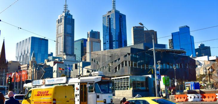 Ville de Melbourne Australie
